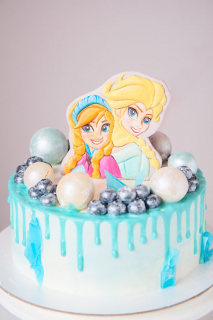 детский торт на заказ уфа радости-сладости холодное сердце эльза и анна