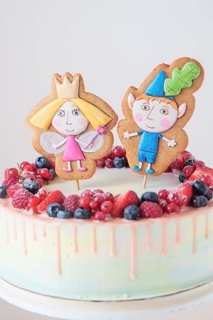 детский торт на заказ холли и бен уфа радости-сладости