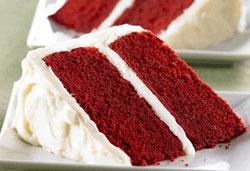 красный бархат радости сладости